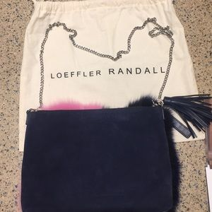 Loeffler Randall Bags - Loeffler Randall fur and suede pillow purse